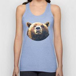 Bear portrait Unisex Tank Top