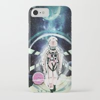 2001 a space odyssey iPhone & iPod Cases featuring 2001: A Space Odyssey by Andreea Benu