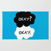 okay Area & Throw Rugs featuring Okay by Hoeroine
