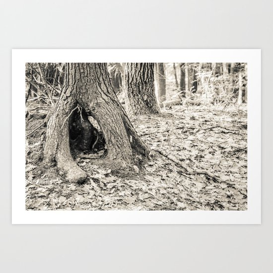 Unique Tree Art Print