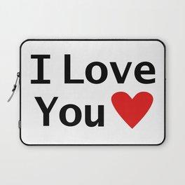 I love you Laptop Sleeve