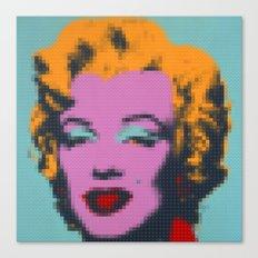 Lego : Marilyn Mönröe Canvas Print