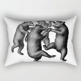 Dancing Bears Rectangular Pillow