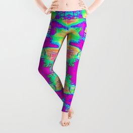 Technicolor Jacket Leggings