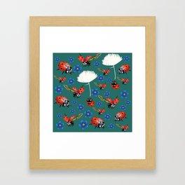 Spring Sing Framed Art Print