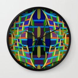 Mask (2), 2400z1 Wall Clock