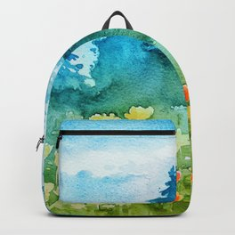 Spring scenery #1 Backpack