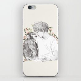 Louis and the chimp iPhone Skin