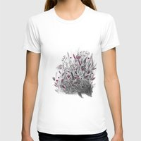 hedgehog T-shirts featuring Hedgehog by Linette No