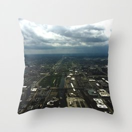 Sky View Chicago Throw Pillow