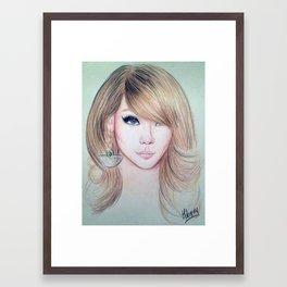 CL (2NE1) - Lee Chae Rin Framed Art Print