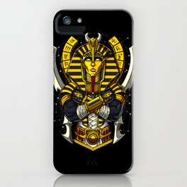 Egyptian Pharaoh Tutankhamun Ancient King Tut iPhone Case