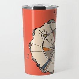 Urchin Orange Travel Mug