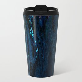 deep dark blue Travel Mug