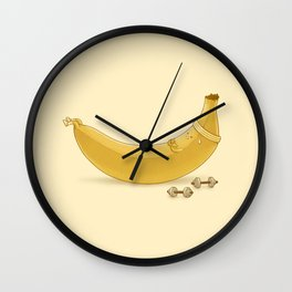 Crunches Wall Clock