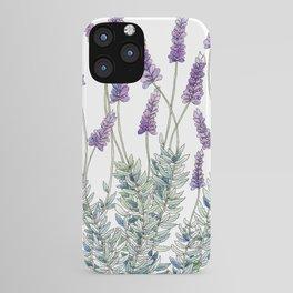 Lavender, Illustration iPhone Case