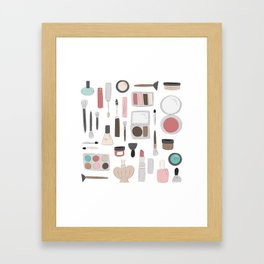 Let's Makeup Framed Art Print