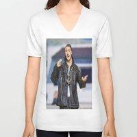 napoleon V-neck T-shirts featuring Napoleon Dynamite by TJAguilar Photos