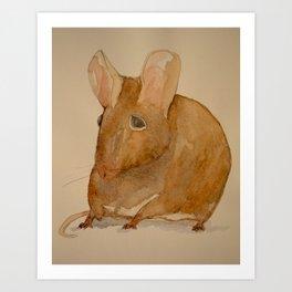 Sweet Ratty Art Print