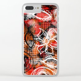 Going rouge Clear iPhone Case