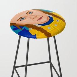 Greta Thunberg Bar Stool