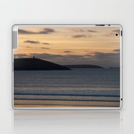 Evening Skies Over Polzeath Laptop & iPad Skin