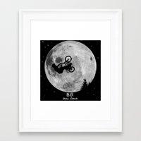 gta Framed Art Prints featuring GTA Bike Glitch by JOlorful