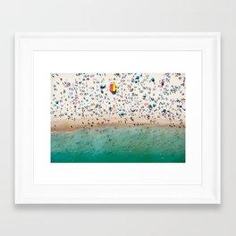 Bondi Life Framed Art Print