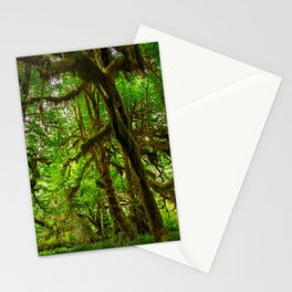 Hall of Mosses - Olympic National Park Stationery Cards
