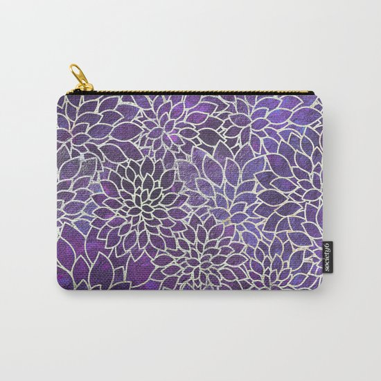 Floral Abstract 13 Carry-All Pouch