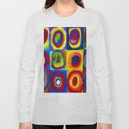 Wassily Kandinsky Color Study Long Sleeve T-shirt