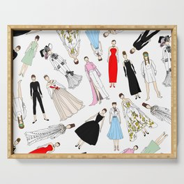 Audrey Fashion (Scattered) Serving Tray