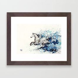 Celerity Framed Art Print