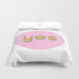 Yes 01 Duvet Cover