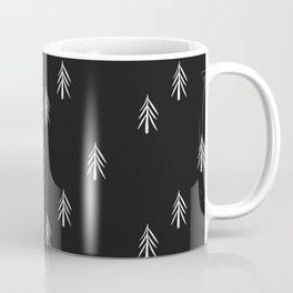 nordic fir trees Coffee Mug