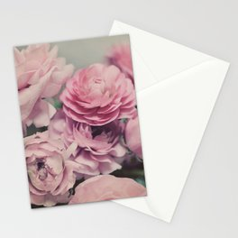 quiet ranunculus Stationery Cards