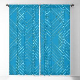 Art Nouveau Geo B Blackout Curtain