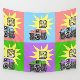 Let's warholize...and say cheese! Wall Tapestry