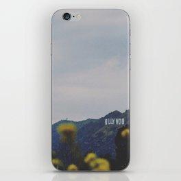 Quiet Hollywood iPhone Skin