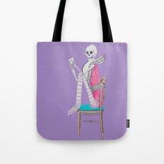 circus skeleton Tote Bag