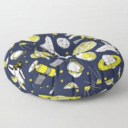 Space Oddity Floor Pillow