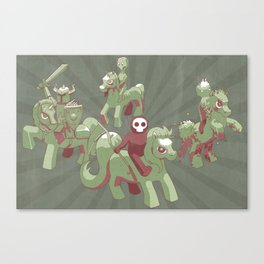 My Little Apocalypse Canvas Print