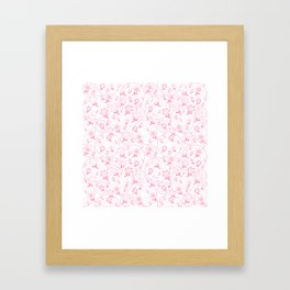 Winnie's Flower Garden Framed Art Print