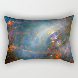 Beating Heart of the Crab Nebula Rectangular Pillow