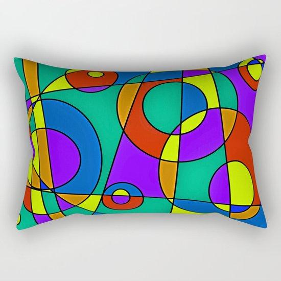 Abstract #61 Rectangular Pillow