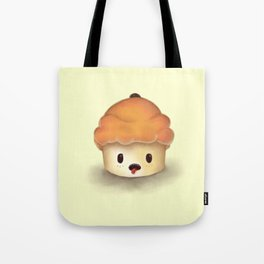 Carrot Cupcake Tote Bag