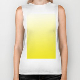 Simply sun yellow color gradient - Mix and Match with Simplicity of Life Biker Tank