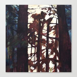 Woven Window Canvas Print