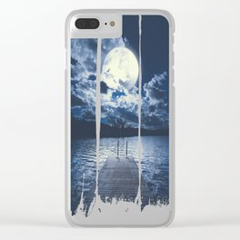 Bottomless dreams Clear iPhone Case