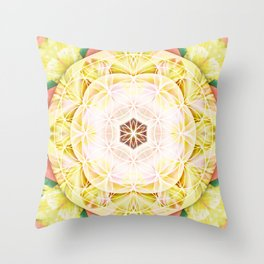 Flower of Life Mandalas 7 Throw Pillow